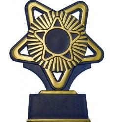 Trofeo azul estrella