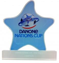Trofeo metacrilato Danone