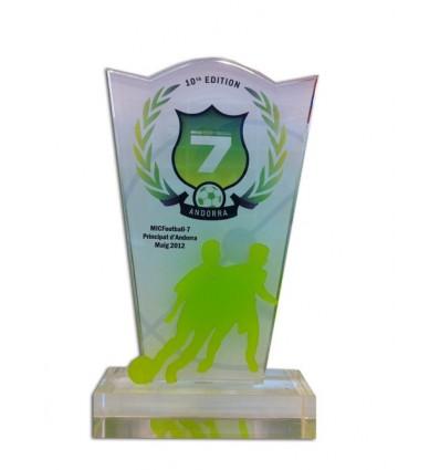 Trofeo metacrilato Mic