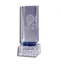 Trofeo padel de cristal
