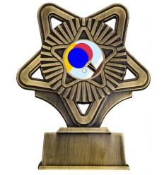 Trofeo plastico Ping Pong