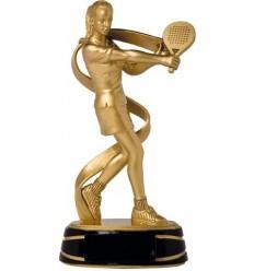 Trofeo padel jugadora femenina oro