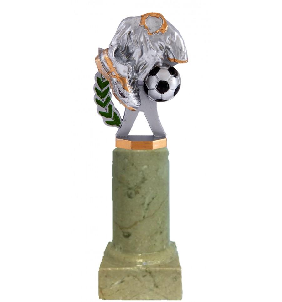 Trofeo de f tbol en columna de m rmol - Columna de marmol ...