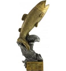 Trofeo de resina figura de pez