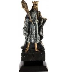Trofeo cartas rey de bastos