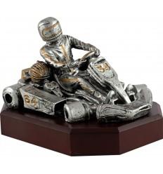 Trofeo resina kart