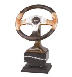Trofeo Motor. Volante de Coche competición.