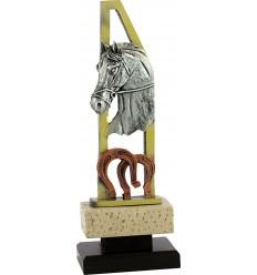 Trofeo de caballo de resina
