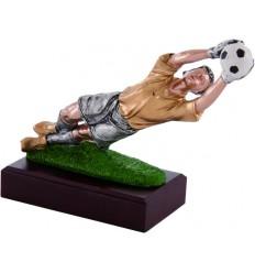 Trofeo futbol. Figura portero