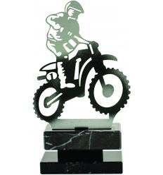 TROFEO MOTOCROSS DE METAL