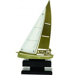 Trofeo embarcación de vela