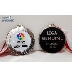 MEDALLAS LIGA GENUINE