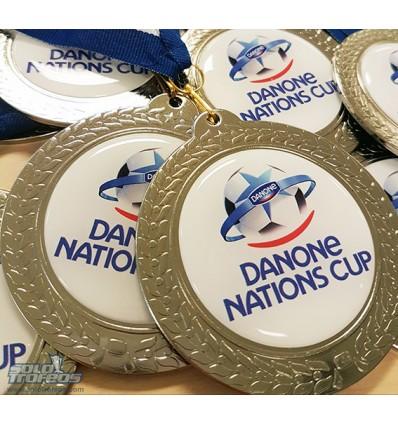MEDALLAS DANONE NATIONS CUP