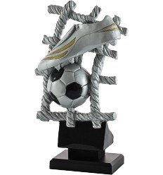 Trofeo fútbol de resina