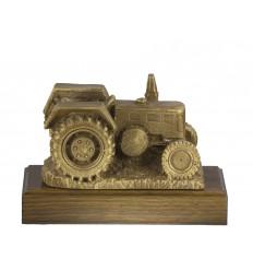 Trofeo resina tractor